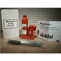 "Duff-Norton Little Devils 7"" Hydraulic Bottle Jack, 2 Ton, Model HJ0207"