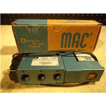 MAC 811C-PM-611BA-152 4-WAY PNEUMATIC SOLENOID VALVE, 800 SERIES
