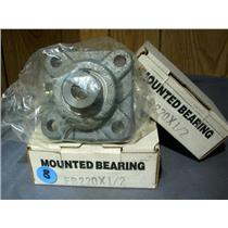 "HUB CITY FB220X 1/2"" MOUNTED BEARING (LOT OF 2)"