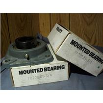 "HUB CITY FB220X 1-3/4"" MOUNTED BEARING (LOT OF 2)"