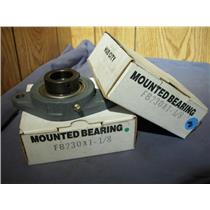 "HUB CITY FB230X 1-1/8"" MOUNTED BEARING (LOT OF 2)"