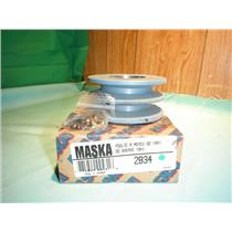 MASKA 2B34, DOUBLE BELT PULLEY FOR USE WITH QD (SH) BUSHING