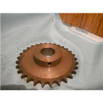 "USED MARTIN 50B30, 30 TEETH 1-1/2""  KEYED SPROCKET"