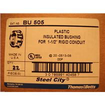 "Thomas & Betts BU505 Grounding Bushing For 1 1/2"" Rigid Conduit"