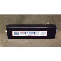 Advance Rapid-Start Electronic Ballast Part # VEL-2S86 / 2 Lamps / 277 Volts