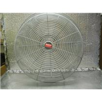 "1 SET OF DAYTON 24"" FRONT & BACK  CLOSED MESH FAN GUARDS"