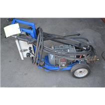 USED Aqua Blast Model P4160ECR High Pressure Cleaning System