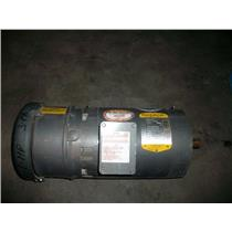 Baldor Electric Motor 1 hp, Volts 208-230/460, Phase 3, M3454