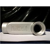 "Crouse-Hinds 1"" NPT Explosion Proof Fitting, LB-39, 2 Hub"
