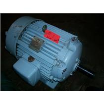 20 HP 220/440 VAC, 1170 RPM LOUIS ALLIS INDUCTION MOTOR, 326U Frame,