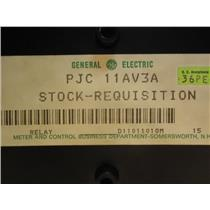 General Electric 12PJC11AV3A Instantaneous Current Relay