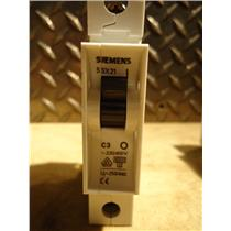 Siemens 5SX21 Circuit Breaker, C3