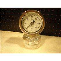 McDaniel Controls 0 - 300 PSI 316 Stainless Pressure Gauge
