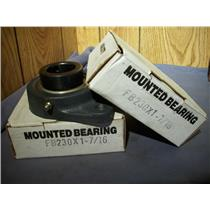 "HUB CITY FB230X 1-7/16"" MOUNTED BEARING (LOT OF 2)"