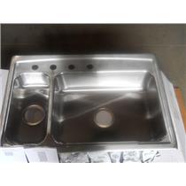 Kohler 3347L-4-NA Toccata Self-Rimming Kitchen Sink