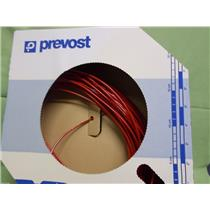 (Lot of 4 Boxes) Prevost Poly Tubing / Red 1/8 x 0.062 / PHRDI0618100