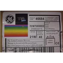 GE Ecolux Starcoat T5 Bulbs F21W/T5/835/ECO  Product Code. 46684 /  1 Box of 39