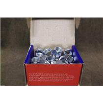 "Power Fasteners Zinc Finished Hex Nuts 1/2""-13 Cat.# 016005 / Box of 50"