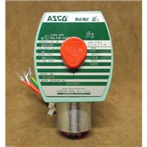 Asco Red Hat II Solenoid Valve Cat.# 8210G87/ 2-Way/ 24 Volts DC / New in Box