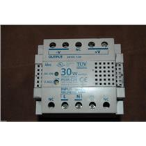 idec TUV PS5R-C24 30 w ouput power supply Input 50/60 HZ 100-240 VAC .68A
