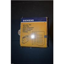 Siemens 7pu2020-1ab30 Time Relay 24V