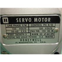 Honeywell 362479-3 Servo Motor,