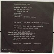 """POP GROUP we are all prostitutes 7"""" Mint- ROUGH TRADE RT 023 Vinyl 1980 Record"""