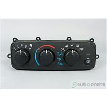 2001-2006 Dodge Stratus Sebring Climate Control Unit / Panel with Rear Defrost