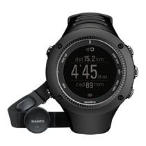 Suunto Watch BlkAmbit ll SS020655000 W/Heart Rate Mon.GPS:Speed Distance Cadence