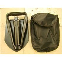 "23"" Tri-Fold Shovel w/Case-Camping-Prospecting-Mining-Folding-Gardening-Backpack"
