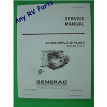 Generac Service Manual Impact 36 Plus II Part 0D9057