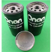 Genuine Onan Generator Oil Filter 2 Pack 122-0836 and Filter Wrench 420-0577