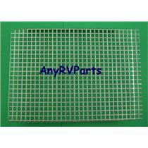 Suburban 10 Gallon Water Heater Door Screen 030986 9 1/2 X 6 3/4