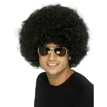 Black Funky Afro Wig
