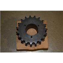 Browning Emerson DS60P19 Double Single Roller Chain Split Tapered Sprocket