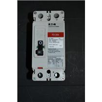 Cutler-Hammer FD2020 Industrial Circuit Breaker 600V 20A 2P (Used) FD 35K FD35K