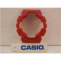Casio Watch Parts GA-100 C-4 Bezel Red and GA-110 C-4. Bezel/Shell G-Shock Red