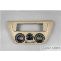 2003 Mitsubishi  Lancer Climate Control Dash Bezel for Manual Climate Controls