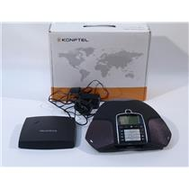 Konftel 300W Wireless Conference Phone with DECT Base Station Analog Refurbished