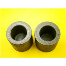 """Lot of 2 Graphite 4 oz Crucibles for Melting Gold-Silver- 1-3/8"""" W x 1-3/8"""" Tall"""