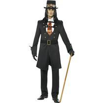 Steampunk Victorian Vamp Male Adult Costume Size Medium