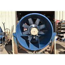 Flakt AXICO FSAC-4-125-6-1-41 Axial Fan w/ GE 20HP 5KS286HL331 motor