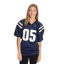 Womens S House of Blues San Diego 05 Football Jersey/Shirt Navy Blue/White EUC