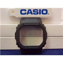 Casio Watch Parts DW-5600 SN & GW-5600 B Bezel/Shell G-Shock Blk. Fits DW-5600E