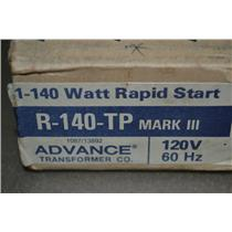 2x Advance R-140-TP Mark III Ballast Rapid Start for(1)- 40W MA RS/(1)- F40-4FT
