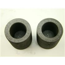 """Lot of 2 Graphite 2.5 oz Crucibles for Melting Gold-Silver- 1-3/16"""" W x 1-3/16"""""""