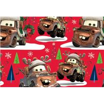 Disney's Cars Mater Christmas Gift Wrapping Paper Roll - 40 Sq Ft - #W14-4104