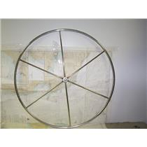 """Boaters' Resale Shop Of TX 1311 0105.62 STAINLESS STEEL 40"""" DESTROYER WHEEL"""