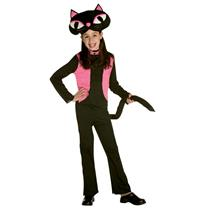 50's Kitty Cat Child Costume Girl's Size Medium 7-10