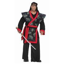 Super Samurai Warrior 3XL Adult Plus Size Costume